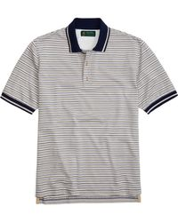 Brooks Brothers St Andrews Links Multi Stripe Polo - Lyst