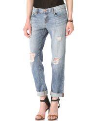 J Brand Aidan Slouchy Boy Jeans - Lyst
