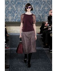 Tory Burch Fall 2013 Runway Look 25 - Lyst