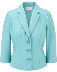 Cc Bow Back Jacket blue - Lyst