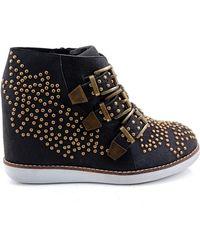 Jeffrey Campbell Verona Wedge Boots - Lyst