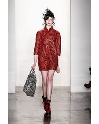 Jeremy Scott Fall 2013 Runway Look 24 - Lyst