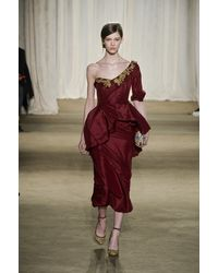 Marchesa Fall 2013 Runway Look 3 - Lyst