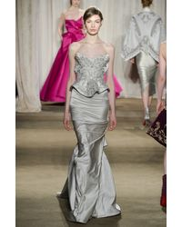 Marchesa Fall 2013 Runway Look 21 - Lyst