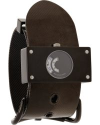 Balenciaga - Montre Acier Black Watch - Lyst