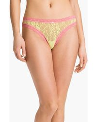 DKNY Lace Thong  - Lyst