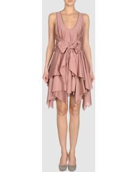 Jen Kao Short Dress - Lyst