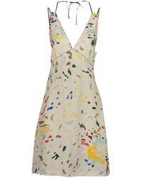 Paul Smith Short Dress - Lyst
