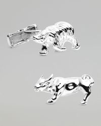 Ravi Ratan - Bull Bear Cuff Links - Lyst