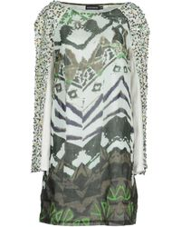 Antik Batik Green Short Dresses - Lyst