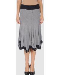 Shirt Passion - 3/4 Length Skirt - Lyst