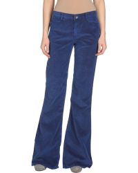Theyskens' Theory Casual Trouser blue - Lyst