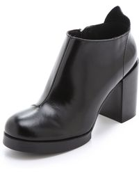 Cheap Monday - Layer Heel Booties - Lyst