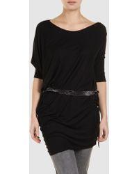 Aminaka Wilmont Short Sleeve T-Shirt black - Lyst