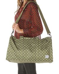 Herschel Supply Co. The Ravine Bag in Olive Polka Dot - Lyst