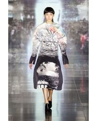 Mary Katrantzou Fall 2013 Runway Look 7 - Lyst