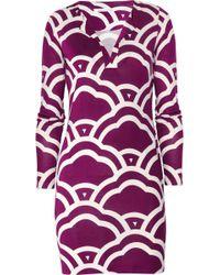 Diane von Furstenberg Silk Jersey Dress - Lyst