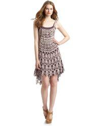 Free People Crochet Dress - Lyst
