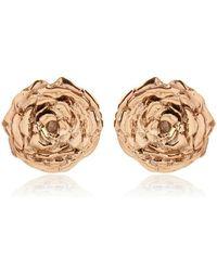Leivan Kash - Olivia Rose Stud Earrings - Lyst