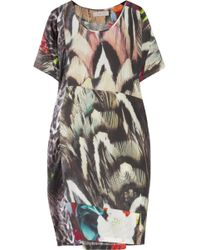 Preen Line Sylvie Printed Silk Dress - Lyst