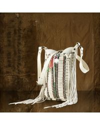 Denim & Supply Ralph Lauren - Canvas Beaded Shoulder Bag - Lyst