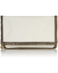 Stella McCartney Falabella Fold Over Clutch - Lyst