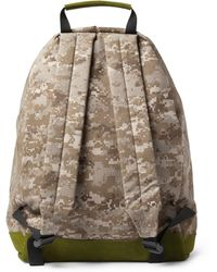 Woolrich - Suede Trimmed Camouflage Print Backpack - Lyst