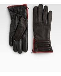 Grandoe - Womens Leather Touchscreen Gloves - Lyst