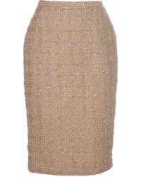 Guy Laroche Pencil Skirt - Lyst