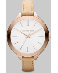 Michael Kors Rose Goldtone Stainless Steel Watch pink - Lyst