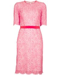 MSGM Lace Dress - Lyst