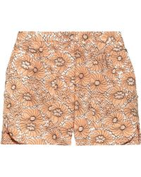 Mulberry Cotton-Blend Lace Shorts - Lyst