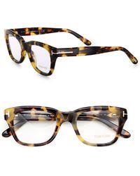 Tom Ford Full-Rim Square Optical Glasses - Lyst