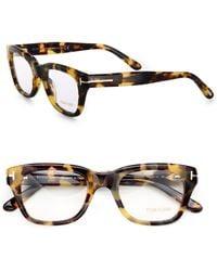 Tom Ford Full-Rim Square Optical Glasses brown - Lyst