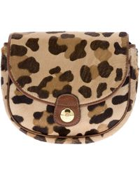 Céline Vintage Leopard Print Handbag - Lyst