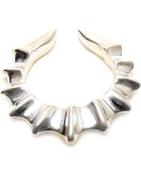 Duffy Sterling Silver Seahorn Ring - Lyst