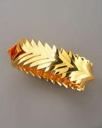 Eddie Borgo - Over Lapping Triangle Bracelet - Lyst