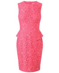 Jason Wu Virgin Wool Macramé Lace Pencil Dress - Lyst