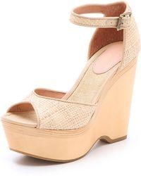 Joie - Weber Wedge Sandals - Lyst