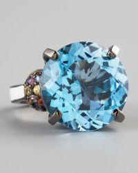 M.c.l  Matthew Campbell Laurenza - Blue Topaz Ring - Lyst