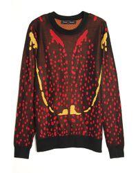 Proenza Schouler Bug Print Knit Pullover - Lyst