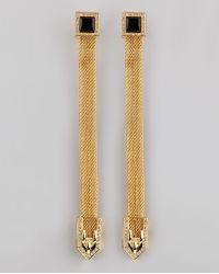 Rachel Zoe - Snake Chain Drop Earrings - Lyst