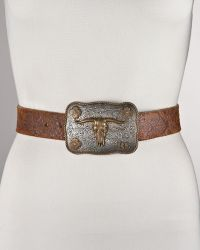 Ralph Lauren - Longhornbuckle Belt - Lyst
