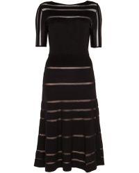 Temperley London Petra Sleeved Dress - Lyst