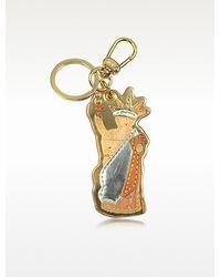 Alviero Martini 1A Classe - Statue Of Liberty Geo Print Key Ring - Lyst