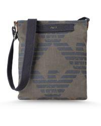 Armani Jeans Messenger Bag - Lyst