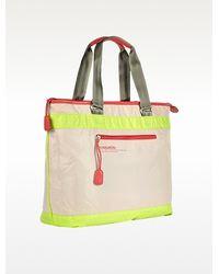 Bensimon - Neon Line Large Nylon Zippered Tote Bag - Lyst