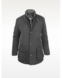 Delahaye - Dark Gray Multipocket Snap Jacket - Lyst