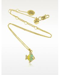Juicy Couture Tropical Fish Mini Wish Necklace - Lyst