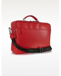 Moreschi - Calf Leather Laptop Briefcase - Lyst
